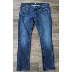 7 for all mankind | Straight Leg Jeans E8